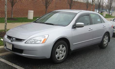 2003 Honda Accord  Information And Photos Zombiedrive
