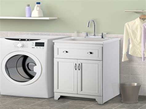 Laundry Room Cabinet With Sink, Home Depot Utility Sink
