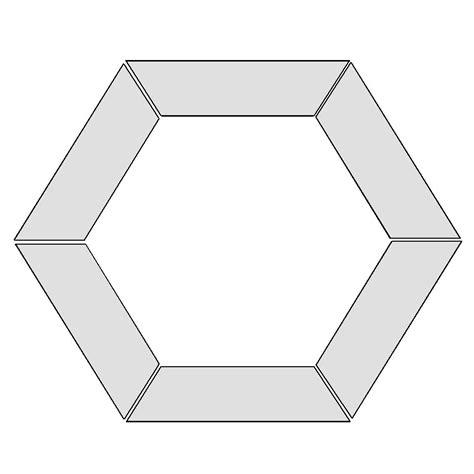 hexagon template scrappy flower hexagon wreath lines across
