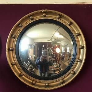 Vintage, Convex, Mirror, By, Atsonea, -, Antique, Mirrors