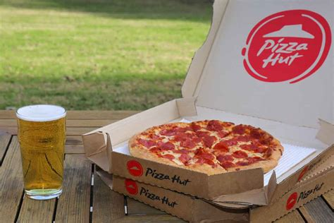 pizza hut adds   locations  category  beer pizza delivery    meat