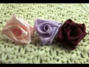 Comment Faire Secher Une Rose : comment faire une rose en ruban youtube ~ Melissatoandfro.com Idées de Décoration