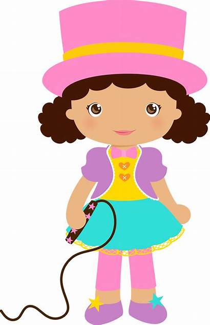 Circus Clipart Girly Transparent Announcer Webstockreview Getdrawings