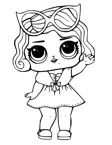 lol doll coloring pages baby coloring pages cute