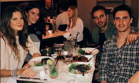 Pregnant Binky and baby daddy JP enjoy double date night ...