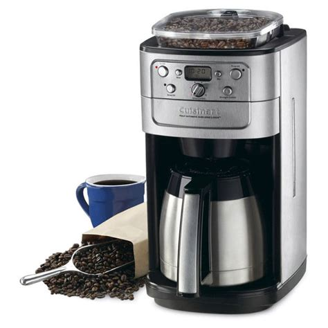 cuisinart grind brew thermal automatic coffee maker