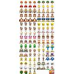 Mario Dr Sheet Doctor Spriters Resource Icons