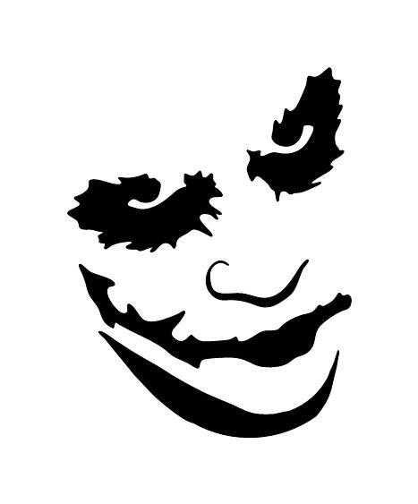 Pochoir Tatouage Temporaire  Joker  Fig99 Unik Tattoo