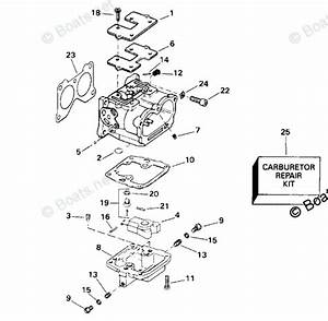 Johnson Outboard Parts By Hp 88hp Oem Parts Diagram For