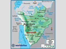 Geography of Burundi, Landforms World Atlas