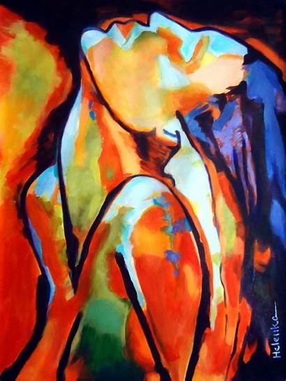 Epiphany Wierzbicki Helenka Helena Abstract Paintings Arte