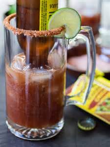 Mexican Beer Drink Michelada