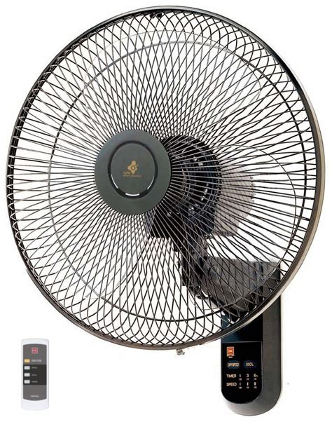 kdk wall fan 40cm plastic blade with remote m40ms fans
