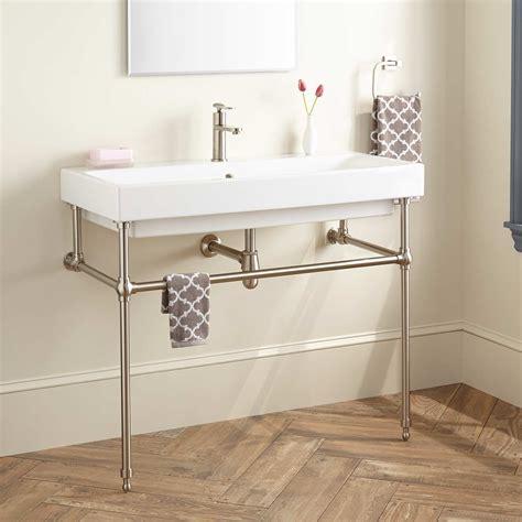 Interesting 70 Bathroom Sinks With Metal Legs Inspiration