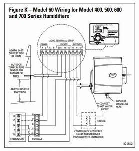 goodman gmt 070 4 with aprilaire 700 and model 60 With humidifier wiring diagram also aprilaire 700 humidifier wiring diagram