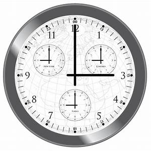 Horaires New York : horloge multi fuseaux horaires tokyo new york londres ~ Medecine-chirurgie-esthetiques.com Avis de Voitures