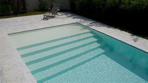 pool treppe nachrüsten swimming pool mit 220 berlaufbecken modell bluespring pool25 es