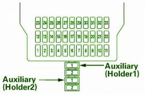 2007 Acura Tsx Auxiliary Fuse Box Diagram  U2013 Auto Fuse Box