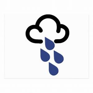 Weather Symbols Postcards | Zazzle