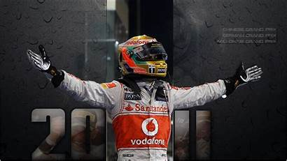 Hamilton Lewis F1 Wallpapers 4k Champion Mercedes