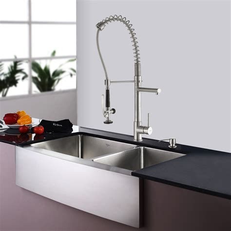 farmhouse sink faucet ideas sinks awesome farm sink faucets restaurant style faucet