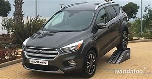 Nouveau Ford Kuga 2017 : nouveau ford kuga 2017 lancement au maroc ~ Nature-et-papiers.com Idées de Décoration