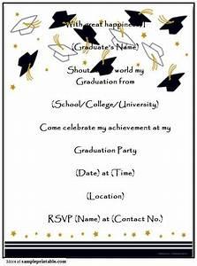 Create Invites Online Free Printable Graduation Party Invitations Printable Homemade