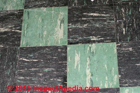 Color Guide to Identify Asphalt Asbestos & Vinyl Asbestos