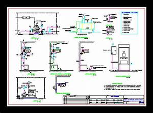 Pump Room System Fire Dwg Detail For Autocad  U2013 Designs Cad