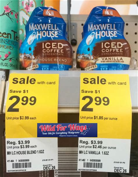 I've used stevia and other natural sweeteners when i've wanted a flavorful iced coffee. Maxwell House Iced Coffee Concentrate $1.97!