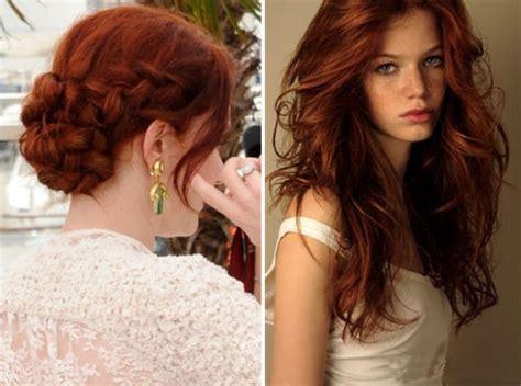 Auburn Hair Color Aelida
