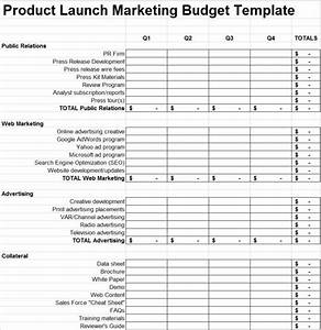 product launch plan marketing budget template 280 group With media launch plan template