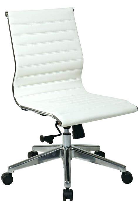 white office desk chair desk chairs modern grey leather office chair white
