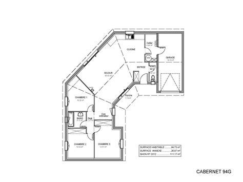 plan de maison 120m2 4 chambres stunning plan de maison de luxe gratuit contemporary