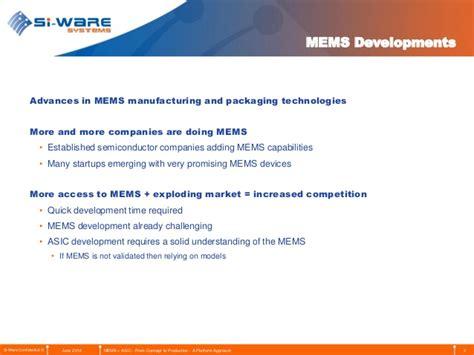 ASICs Development for MEMS Applications: A Platform Approach