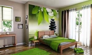 4 Murs Papier Peint Chambre : objet d co violet zen 4 murs papier peint peinture ~ Zukunftsfamilie.com Idées de Décoration