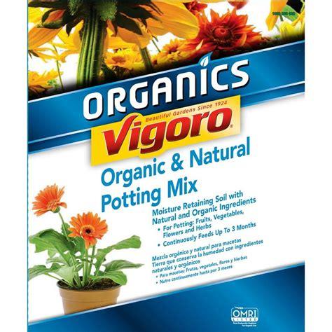 vigoro organic garden soil 40 lb topsoil 71140180 the home depot