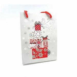 Pochette Cadeau Papier : pochette cadeaux en papier cartonn glac paquet cadeau n el ~ Teatrodelosmanantiales.com Idées de Décoration