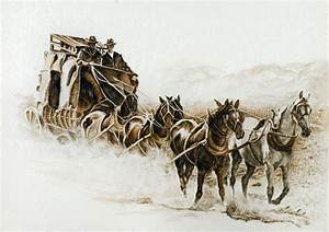 Western decor western stagecoach old west giclee39 for Old western decor