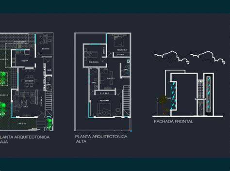 house plans room  levels dwg plan  autocad designs cad