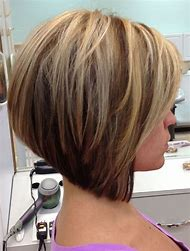 Short Layered Hairstyles Stacked Bob Haircut