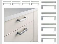 IKEA METRIK Set of 16 Drawer HANDLES Cabinet Pulls