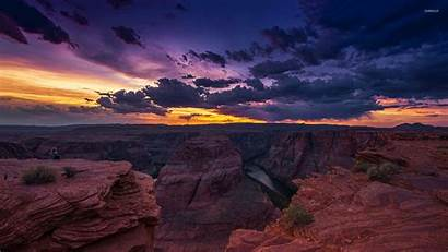 Canyon Grand Desktop Sunset Nature Wallpapers Geographic