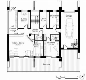 Maison Architecte Plan : plan maison moderne d 39 architecte ooreka ~ Dode.kayakingforconservation.com Idées de Décoration
