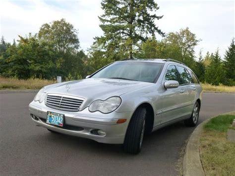 Buy Used 2003 Mercedes-benz C240s Sportswagon In Portland