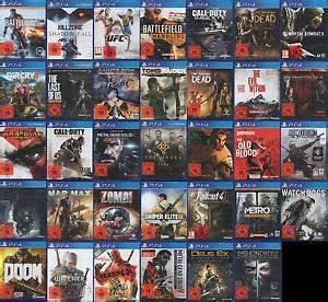 Playstation 4 Spiele Auf Rechnung : playstation 4 ps4 spiele ebay ~ Themetempest.com Abrechnung