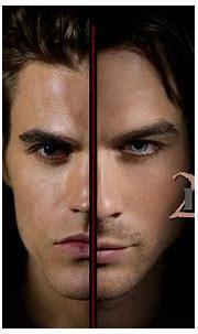 The Salvatore Brothers Wallpaper - The Vampire Diaries TV ...