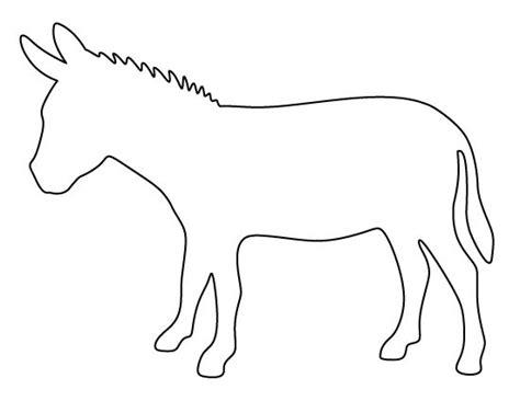 donkey pattern   printable pattern  crafts
