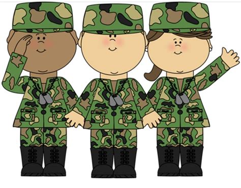 Army Clipart Camo Clipart Soldier Pencil And In Color Camo