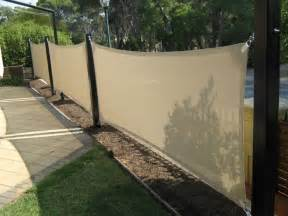 Vertical Patio Blinds by Vertical Shade Sails A Option For Privacy Fence If Ever